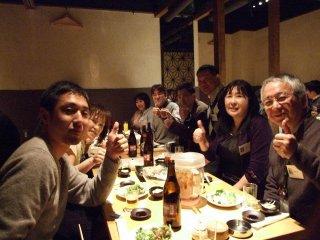 FB所沢会 フェイスブック所沢会 忘年会 2011バウアー祭り!