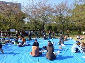 春だ!お花見だよ、全員集合!FB所沢会 始業式 in 航空公園